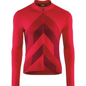 Mavic Cosmic Graphic Maillot manga larga Hombre, haute red